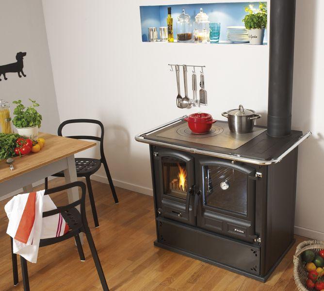 Kuchnie węglowe, na drewno, pellety, piecyki, kominki 60