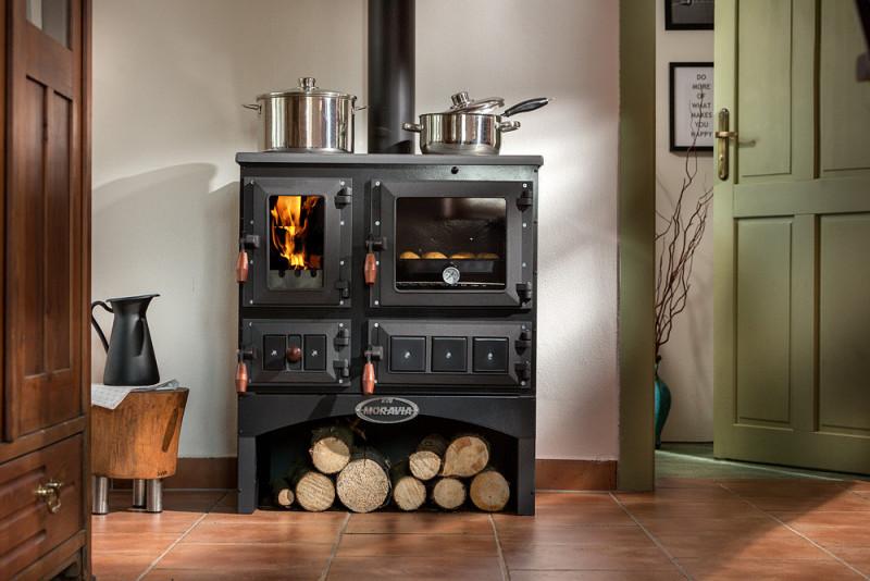 Kuchnie węglowe, na drewno, pellety, piecyki, kominki 91