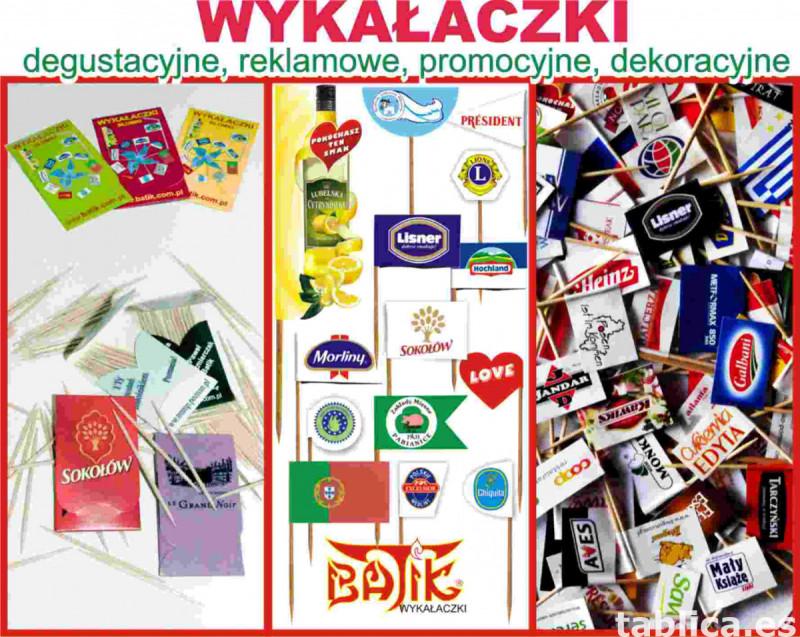 wykałaczki degustacyjne, reklamowe, pikery , flagietki 5