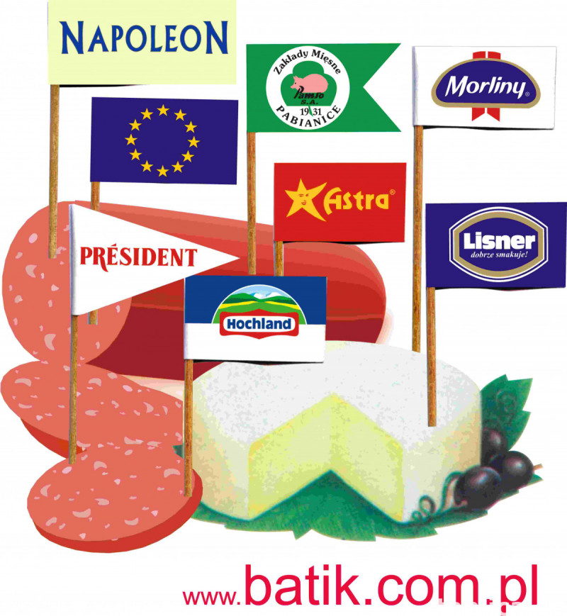 wykałaczki degustacyjne, reklamowe, pikery , flagietki 9
